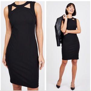 Calvin Klein Cut Out Sheath Dress Size 10
